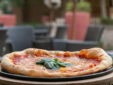 Get pizza and a pint for Dhs49 in Abu Dhabi's Sacci restaurant