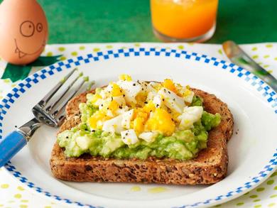 Recipe: Green monster toast