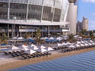 Abu Dhabi's Jumeirah at Etihad Towers launches beach day pass