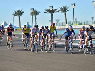 Abu Dhabi's Yas Marina Circuit opens for fitness activities