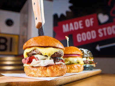 Abu Dhabi's Stock Burger Co. and SushiSan launch Dhs59 lunches