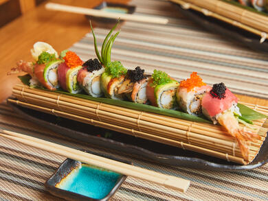 Abu Dhabi's Café Sushi launches all-day unlimited sushi deal