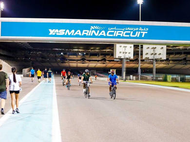 TrainYAS reopens to everyone at Yas Marina Circuit Abu Dhabi