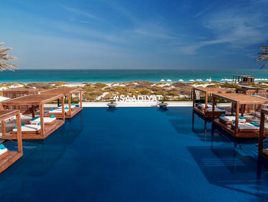 Abu Dhabi's Saadiyat Beach Club relaunches its Friday brunch
