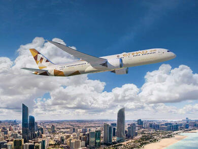 Etihad Airways relaunches flights between Abu Dhabi and Shanghai
