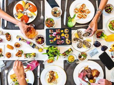 Which brunches are on in Abu Dhabi right now