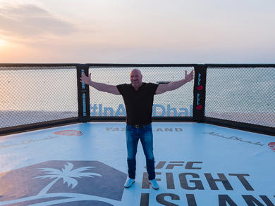 UFC president Dana White says Abu Dhabi could be the fight capital of the world