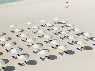 A new beach opens on Abu Dhabi's Saadiyat Island