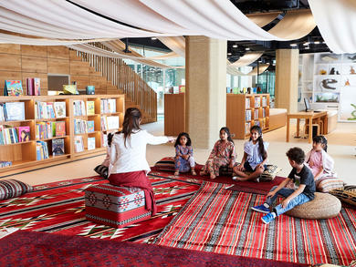 Abu Dhabi's Children's Library launches online services