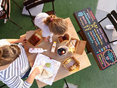 Two places where kids eat free at The Galleria Al Maryah Island Abu Dhabi