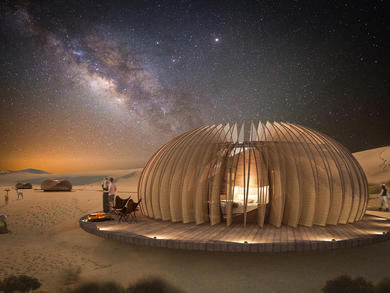 Stunning desert hotel project in Abu Dhabi revealed