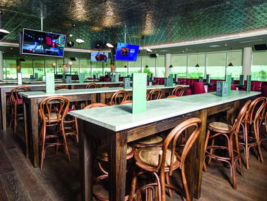 Get a pizza and a pint for Dhs75 at The Sportsman's Arms Abu Dhabi