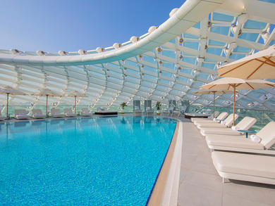 New pool pass at W Abu Dhabi – Yas Island gives you the full cost back in credit