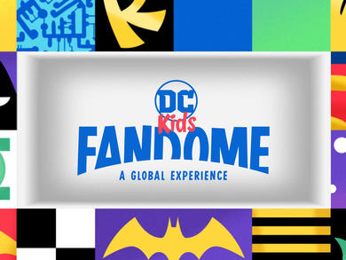 Massive global event DC Kids FanDome taking place this August
