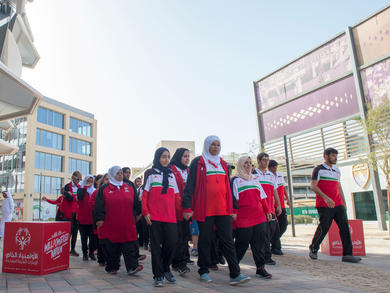 Special Olympics UAE calls on public to help complete Steps Unified challenge