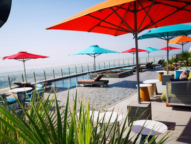 Andaz Capital Gate Abu Dhabi introduces pool pass deal with credit