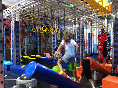 Air Maniax has opened in Abu Dhabi's Marina Mall