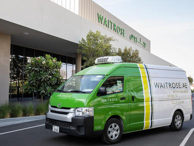 You can now order online deliveries from Waitrose in Abu Dhabi and Dubai