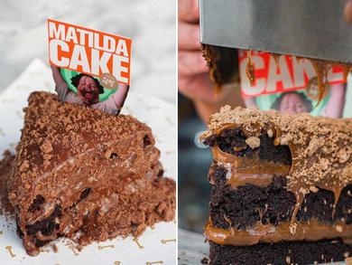Parker's UAE has a crazy chocolate Matilda cake on the menu