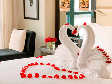 Valentine's Day staycations in Abu Dhabi