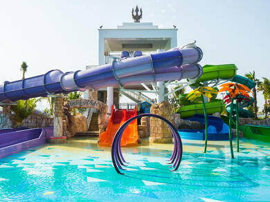The UAE's best water parks for kids under six